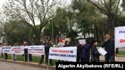 Акция недовольных родителей школы в Новопавловке