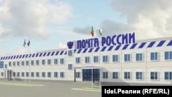 "Еще один вид на новый ЛПЦ. Эскиз ГУП ""Татинвестгражданпроект"""