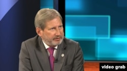 EU Neighborhood Policy and Enlargement Negotiations Commissioner Johannes Hahn (file photo)