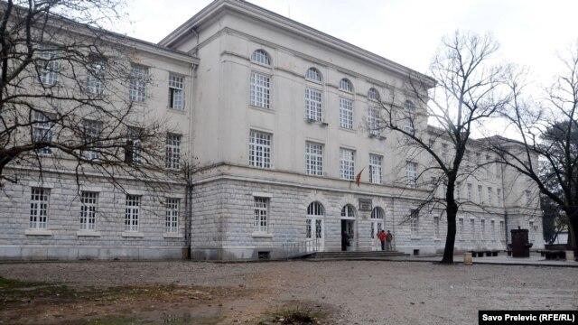 Gimnazija u Podgorici ispred koje se dogodila tuča