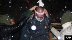 Одно из публичных повешений в Иране