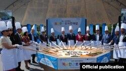 """Seoul Friendship Fair Festival"". Фото предоставлено МИД КР."