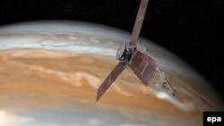 Sonda Juno ispred Jupitera