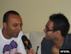 محمد ضرغامی و آرش