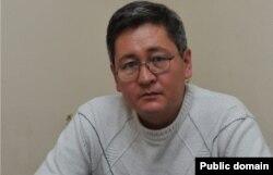«Жетісу» телеарнасының бас директоры орынбасары Серік Әбікенұлы. Сурет оның Facebook парақшасынан алынды.
