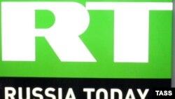 Логотип телеканала Russia Today (RT).