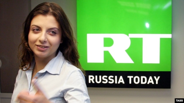 Margarita Simonian is the editor in chief of RT, formerly known as Russia Today. (file photo)