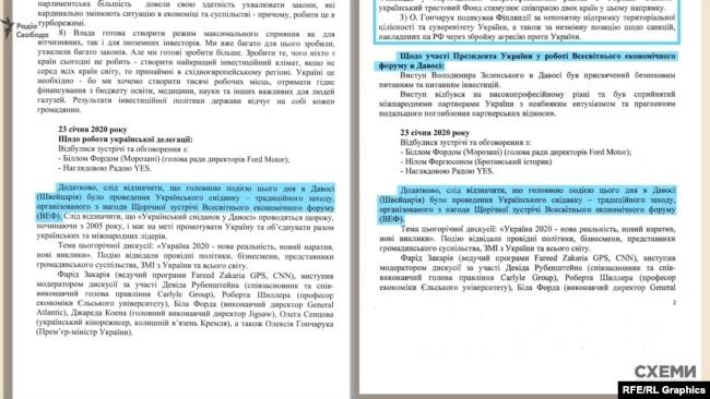 Опис Українського сніданку в обох депутатів був слово в слово, наче під копірку