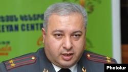 Заместитель начальника Дорожной полиции Артур Тоноян (архив)