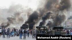 حضور نیروهای ارتش لبنان در جریان اعتراضات به مشکلات اقتصادی.
