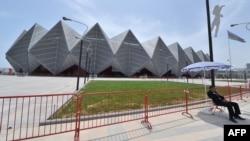 Crystal Hall - предполагаемое место проведения шахматной Олимптады в Баку