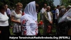 Молебень у пам'ять жертв Волинської трагедії в селі Павлівка