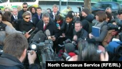 Акция памяти Александра Литвиненко, Лондон, ноябрь 2007