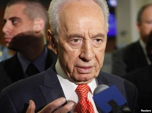 شیمون پرز، رییس جمهوری اسرائیل