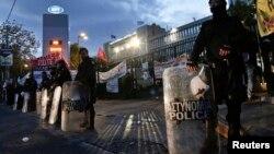 Греческая полиция. Иллюстративное фото.