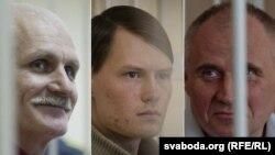 Политические заключенные Белоруссии - Алесь Беляцкий, Эдуард Лобов, Николай Статкевич