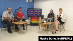 Medijska konferencija povodom video kampanje podrške prvoj bh. Povorci ponosa