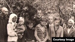 Семья Тони Улановской, Штеровка,1940 г.
