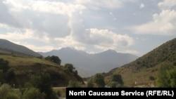 Горы в Северной Осетии