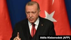 Түркиянын президенти Режеп Тайып Эрдоган. 7-ноябрь, 2019-жыл.