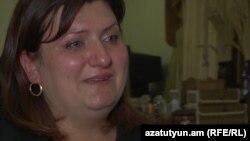 Մահացած նորածնի մայրը՝ Լուսինե Խշոյանը: