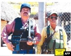 El Chapo, într-o fotografie publicată de autoritățile americane.