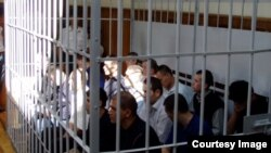 Uzbekistan - Trial on Andijan masacre on 13 May 2005, photo undated