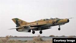 An Iranian F-7 fighter jet (file photo)