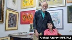 Алексей Утин және оның әйелі Лидия Ивановна