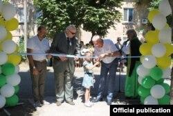 Открытие дома для переселенцев, Павлоград, 26 июня 2019 года