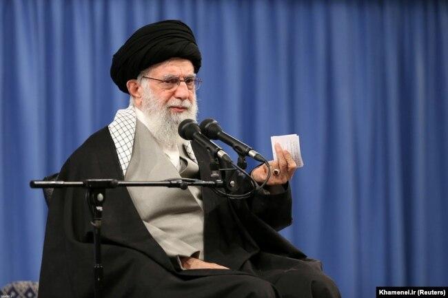 Iranski vrhovni vođa ajatolah Ali Hamnei