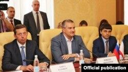 Встреча с турецкими бизнесменами, 7 июля 2015 года