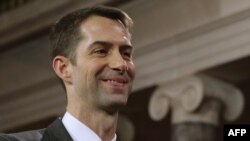 U.S. Senator Tom Cotton (Arkansas) was the writer of the letter.