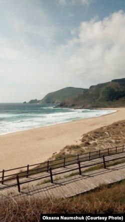 Головний пляж містечка Фістерра