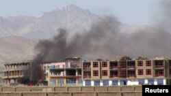 File photo of a Taliban attack in Paktia province.