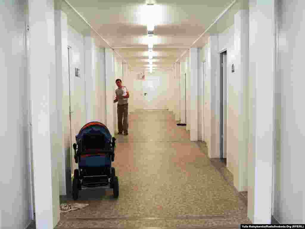 В коридорі модульного будиночка