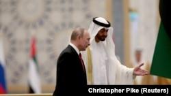 دا په وروستۍ یوه لسیزه کې متحده عربي اماراتو ته د پوتین لومړی رسمي سفر دی.