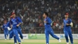 آرشیف/ تیم ملی کریکت افغانستان در بنگلهدیش