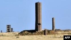 Штольни на территории бывшего Семипалатинского ядерного полигона. Восточно-Казахстанская область, 22 августа 2011 года.