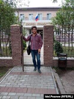 Журналист Александр Пичугин