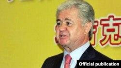 Tajikistan -- Rashid Olimov, the ambassador of Tajikistan in China, 22Mar2012