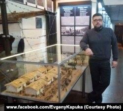 Моделіст Євген Капука. Фото зі сторінки майстра у фейсбуці