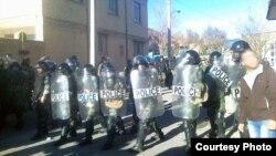 تجمع اعتراضی قبلی دراویش گنابادی در شهرکرد.