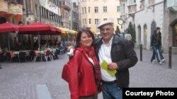 انشه آشوری و همسرش شری ایزدی