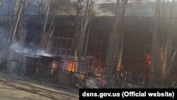 Пожежа сталася на вулиці Бориспільській, 9