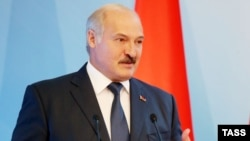 "Belarusian President Alyaksandr Lukashenka said he hoped to bring Minsk's cooperation with China to a ""qualitatively new level."""