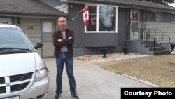 Ержан Нұрхасен, Канадада тұратын қазақ. Сурет оның Facebook парақшасынан алынды.