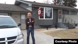 Живущий в Канаде казах Ержан Нурхасен. Фото из социальной сети Facebook.