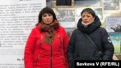 Учасниці-матері Олена Максименко (л) і Лілія Ільницька (п)