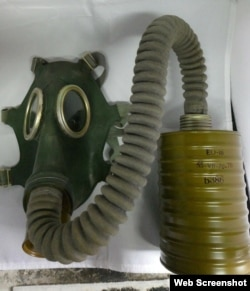 Soviet-era military gas masks have become popular memorabilia items sold online since the Chernobyl TV miniseries began in May.